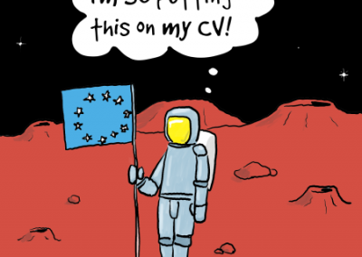 Putting on your CV