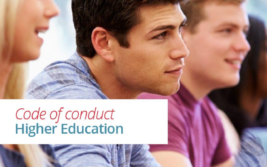 Ken jij de Gedragscode Hoger Onderwijs?