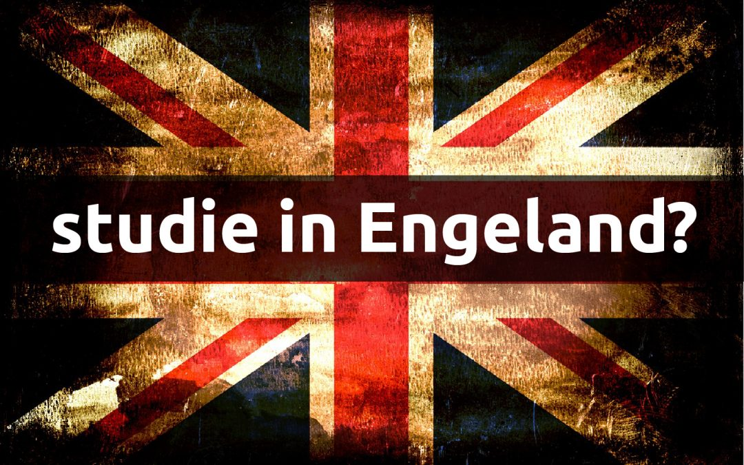 Stay calm and study in England!