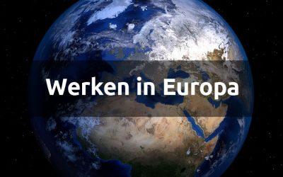5 nuttige websites als je in Europa wilt gaat werken.